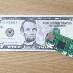 Raspberry Pi Zero $5 Computer 01