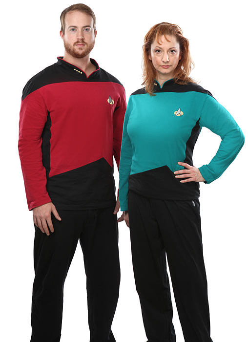 Star Trek TNG geeky Pajama