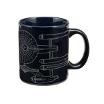 Vandor 80062 Star Trek Enterprise 12 oz Ceramic Mug