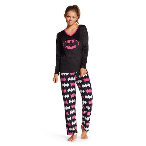 Women's Batman Cozy Fleece PJ Set