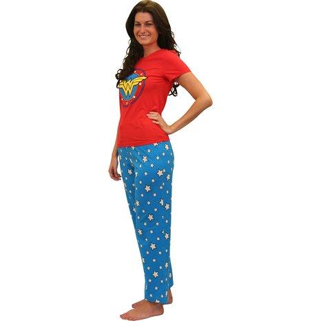 Wonder Woman Superhero Pajamas