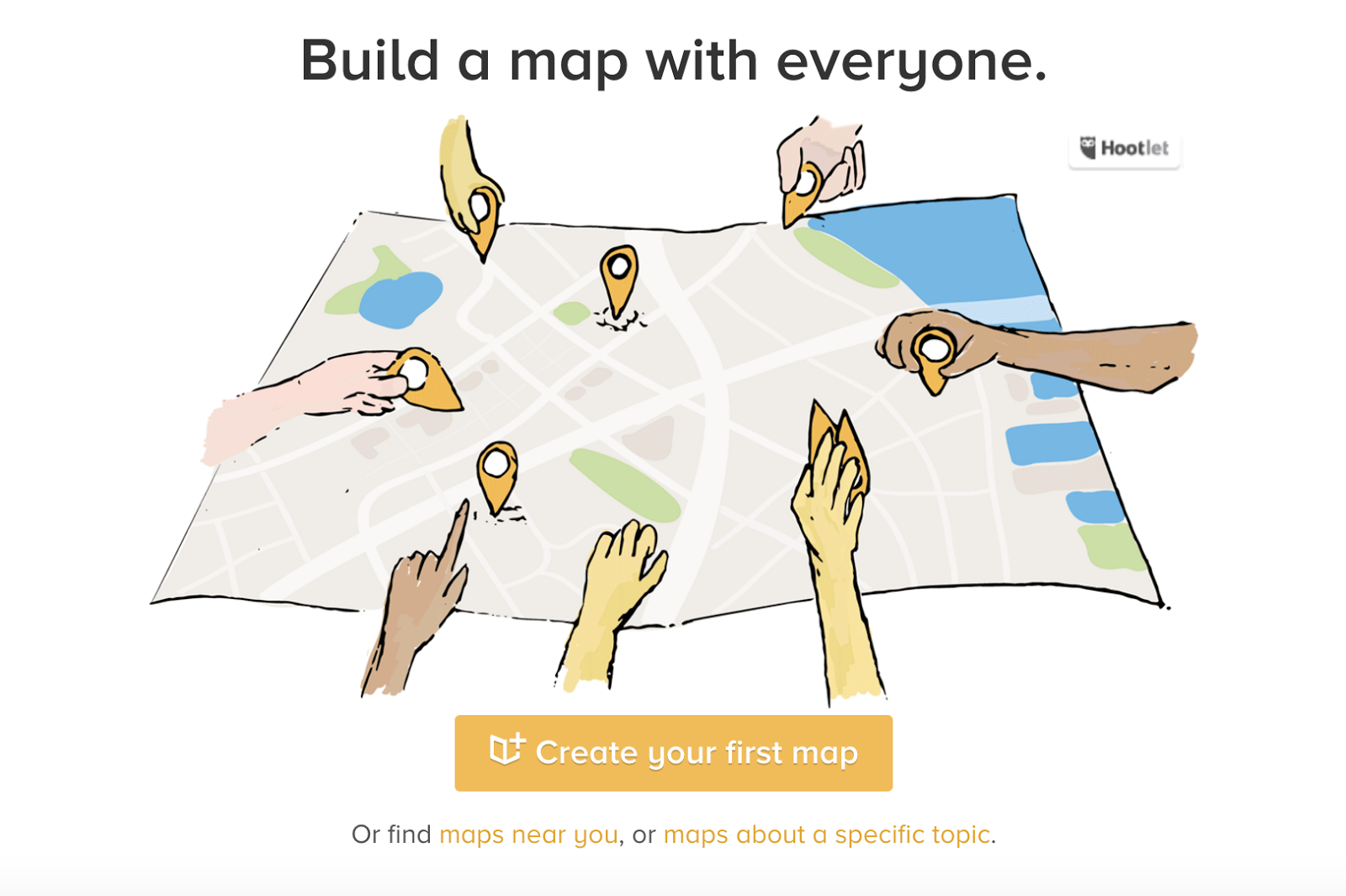 tools for  creating map Crowdmap