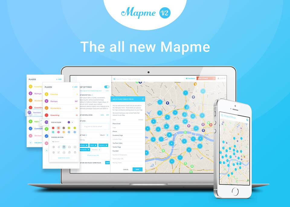 tools for  creating map Mapme