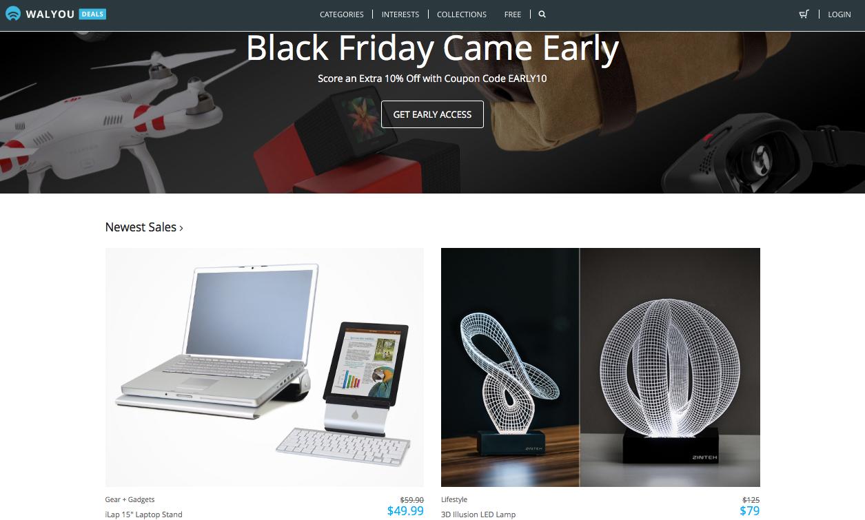 walyou deals online store