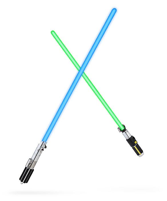 10 Led Lightsabers Star Wars Force FX Lightsaber