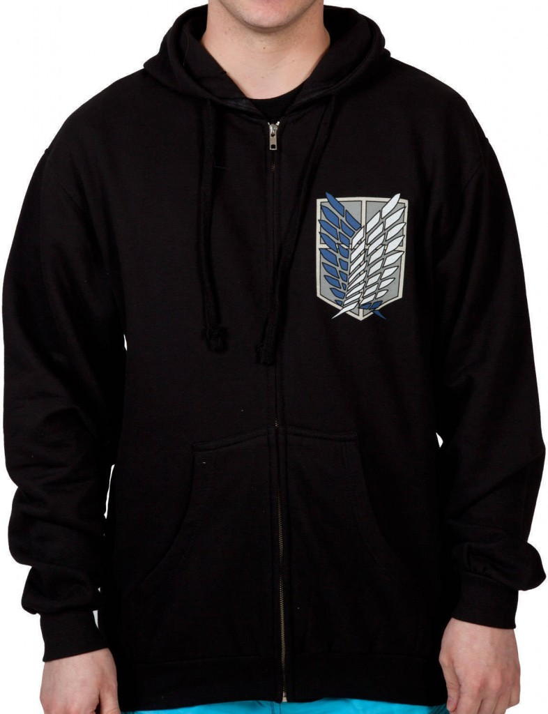 Attack on Titan Survery Corps Anime Hoodie