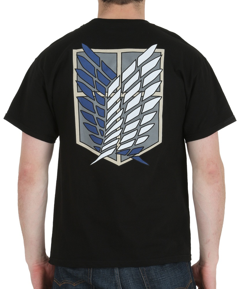 Attack on Titan Survey Corps Anime Shirt