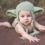 Baby Girls Yoda Hat and Diaper Cover