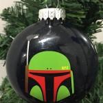 Boba Fett Ornament, Star Wars