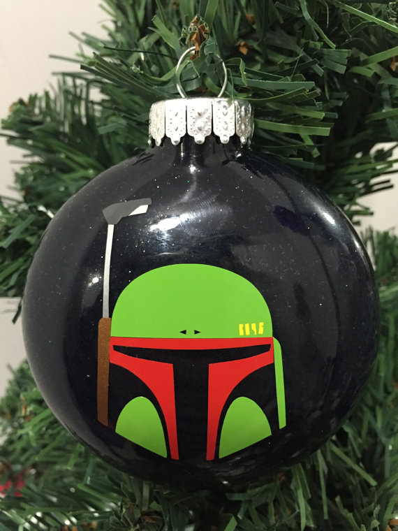 Boba Fett Ornament, Star Wars