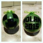 Custom Minecraft Creeper Inspired Ornament