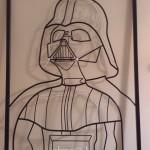 Darth Vader Rod Sculpture