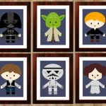 Digital Prints, 9 Prints, Star Wars Nursery,