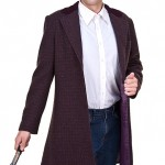 Doctor Who 11th Doctor's Purple Coat