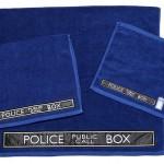 Doctor Who 3-Piece Bath Towel Set