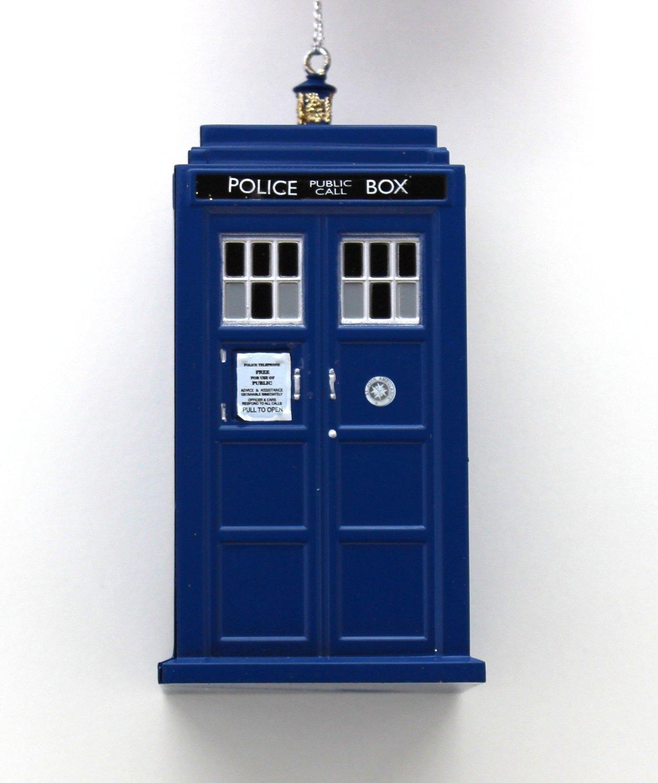 Doctor Who Tardis Plastic Ornament