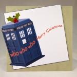Dr. Who Christmas Card