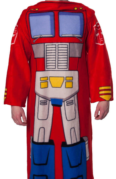 FUUNY Optimus Prime Cozy fleece blankets