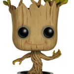Funko POP! Marvel Dancing Groot Bobble Action Figure