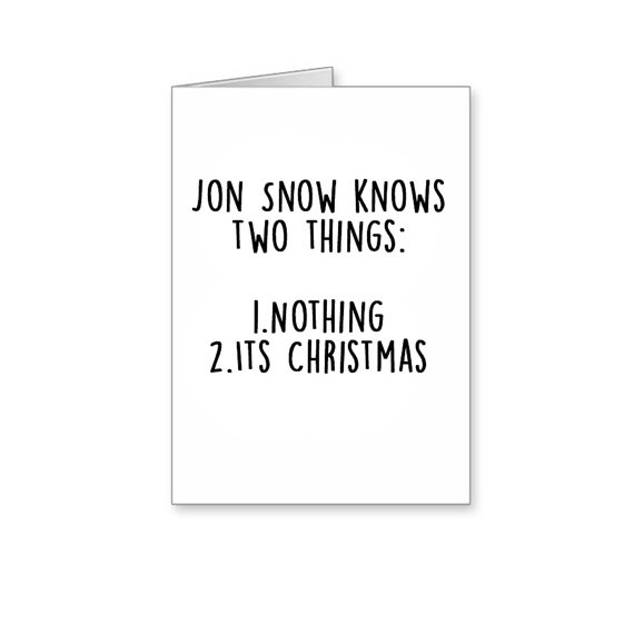 Game of Thrones, Funny Christmas Cards
