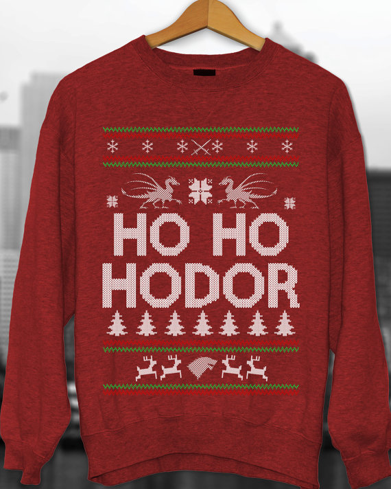 Games of thrones Ugly Christmas Sweater 1