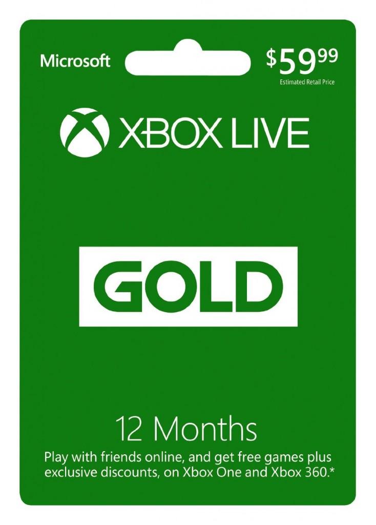 Hot Gaming Deals Xbox Live Membership