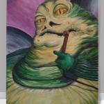 Jabba the Hutt Painting – Star Wars Art – Oil Painting –