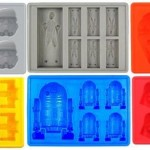 Jollylife Silicone Ice Tray for Star Wars Lovers or Party Theme Set of 6