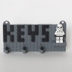 Key Organizer made with LEGO bricks