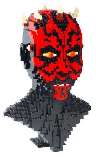 LEGO Star Wars Episode 1- Darth Maul Sculpture