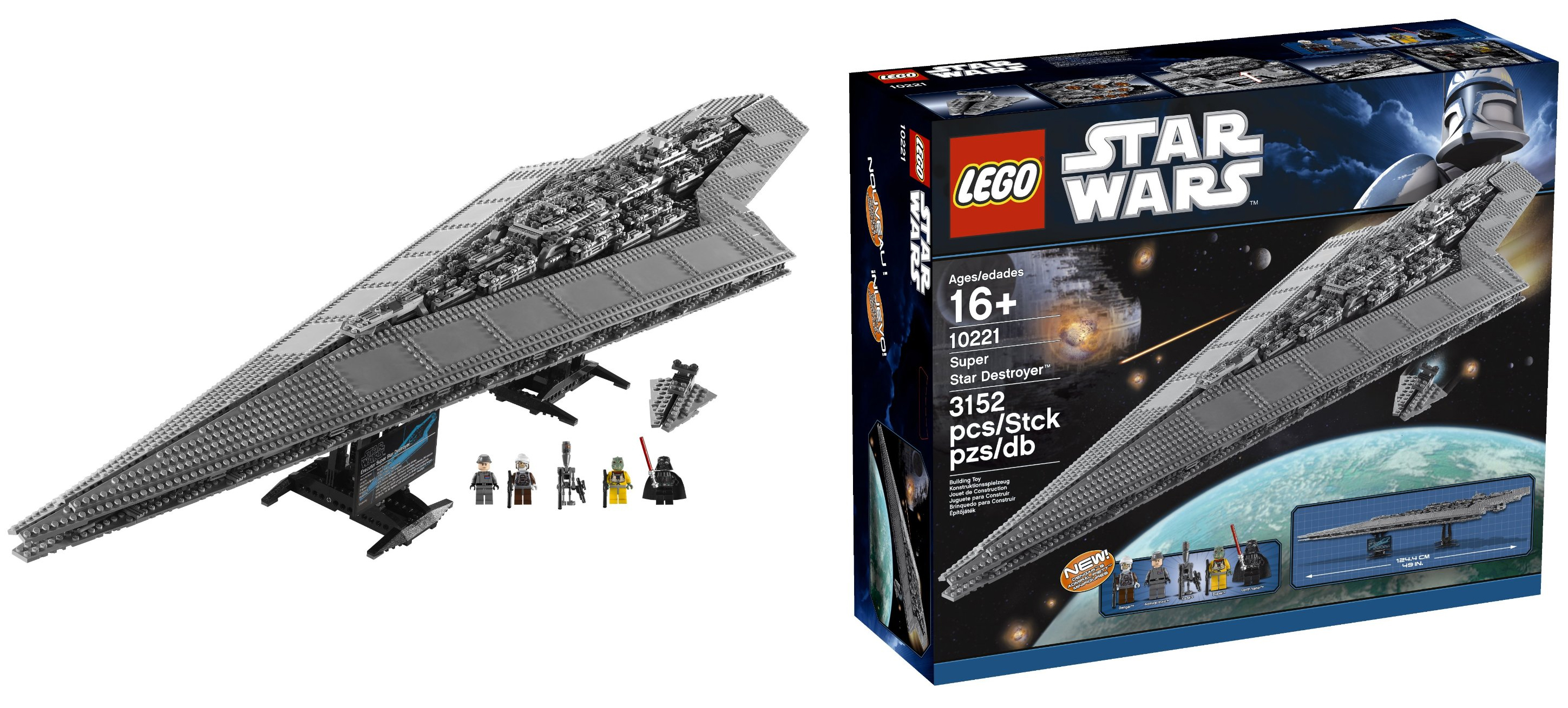LEGO Star Wars set Super Star Destroyer 10221