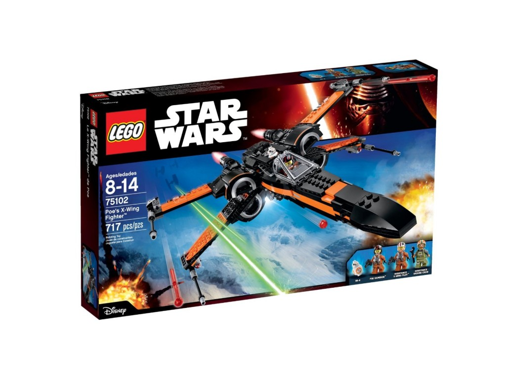 Lego Star Wars Episode VII Poe's X-Wing