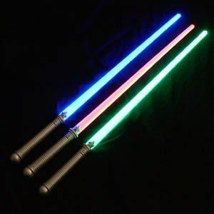 Light Up Laser Lightsaber Sabre Sword 29 (3 PACK)