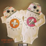 Long Sleeve Droid Bodysuit and hat