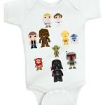 Luke and Princess Leia onesie