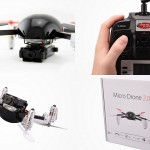 Micro Drone 2.0+ with HD Camera – Inverted Flight Edition
