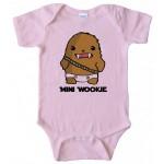 Mini Wookie Baby Chewbacca Onesie
