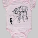 My Star Wars AT-AT Pet baby bodysuit