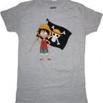One Piece Chibi Luffy Anime Shirt