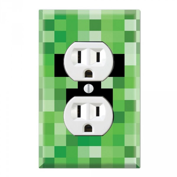 Outlet Wall Plate Covers Minecraft