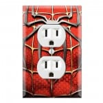 Outlet Wall Plate Covers Spider-man