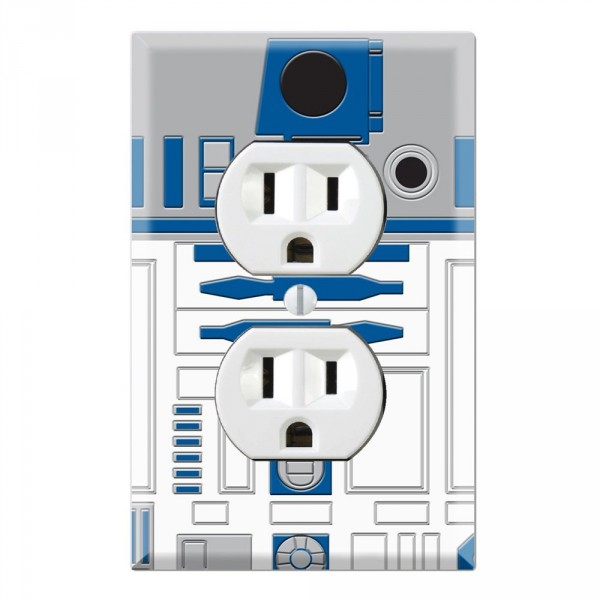 Outlet Wall Plate Covers Star Wars R2-D2
