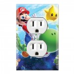 Outlet Wall Plate Covers Super Mario Galaxy
