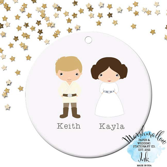 Personalized Star Wars Ornaments