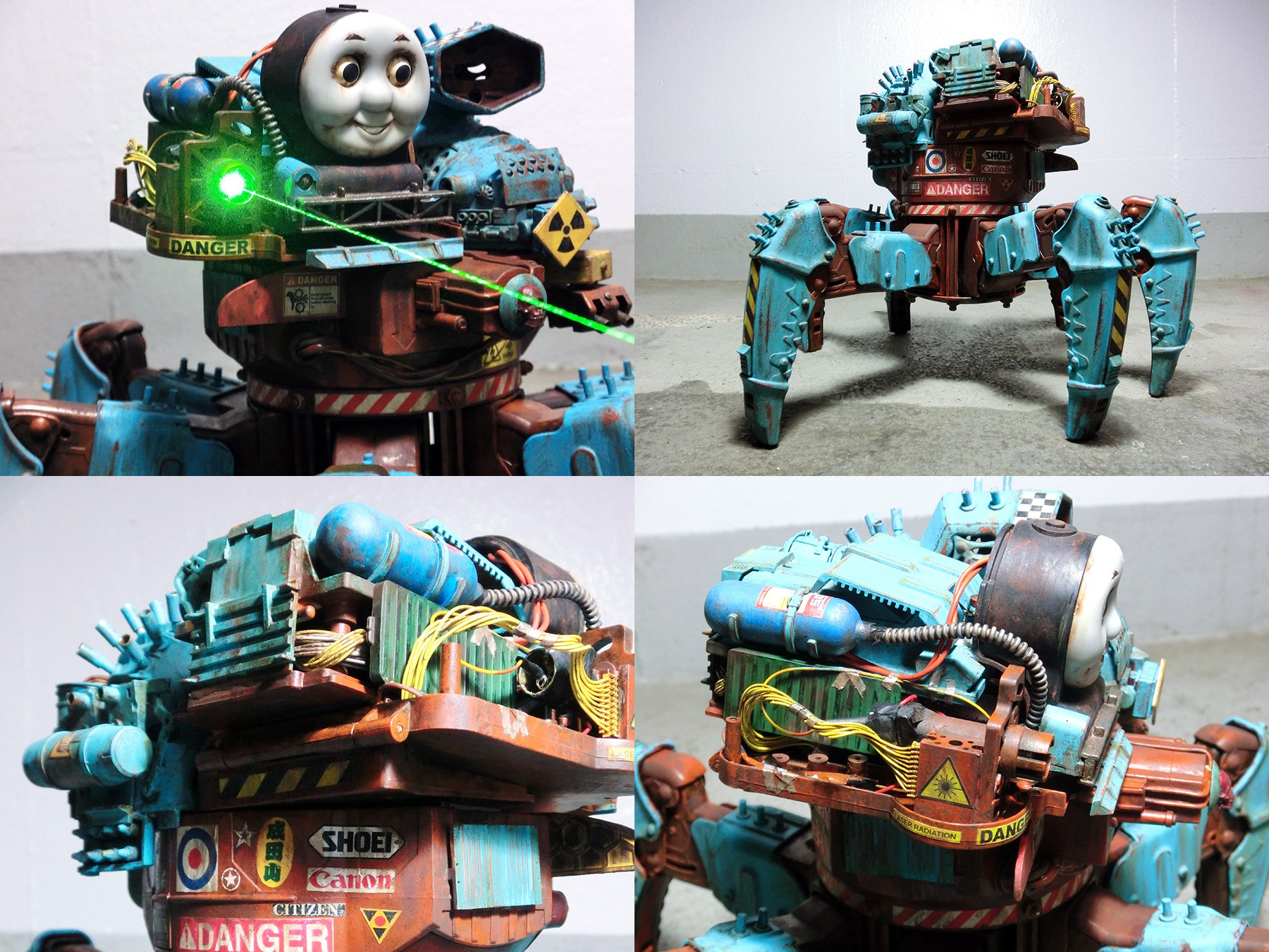 Post-Apocalyptic Thomas the Tank Engine