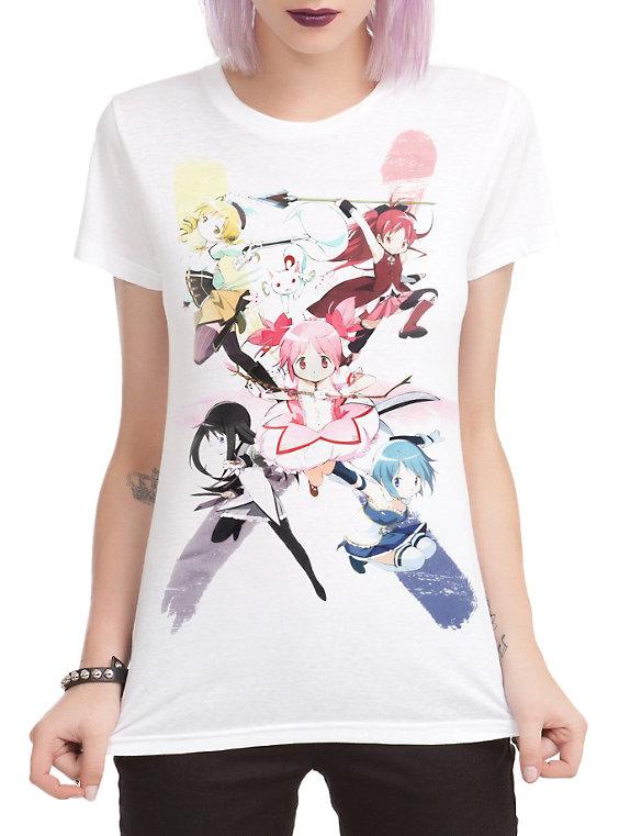 Puella Magi Madoka Magica Anime Shirt