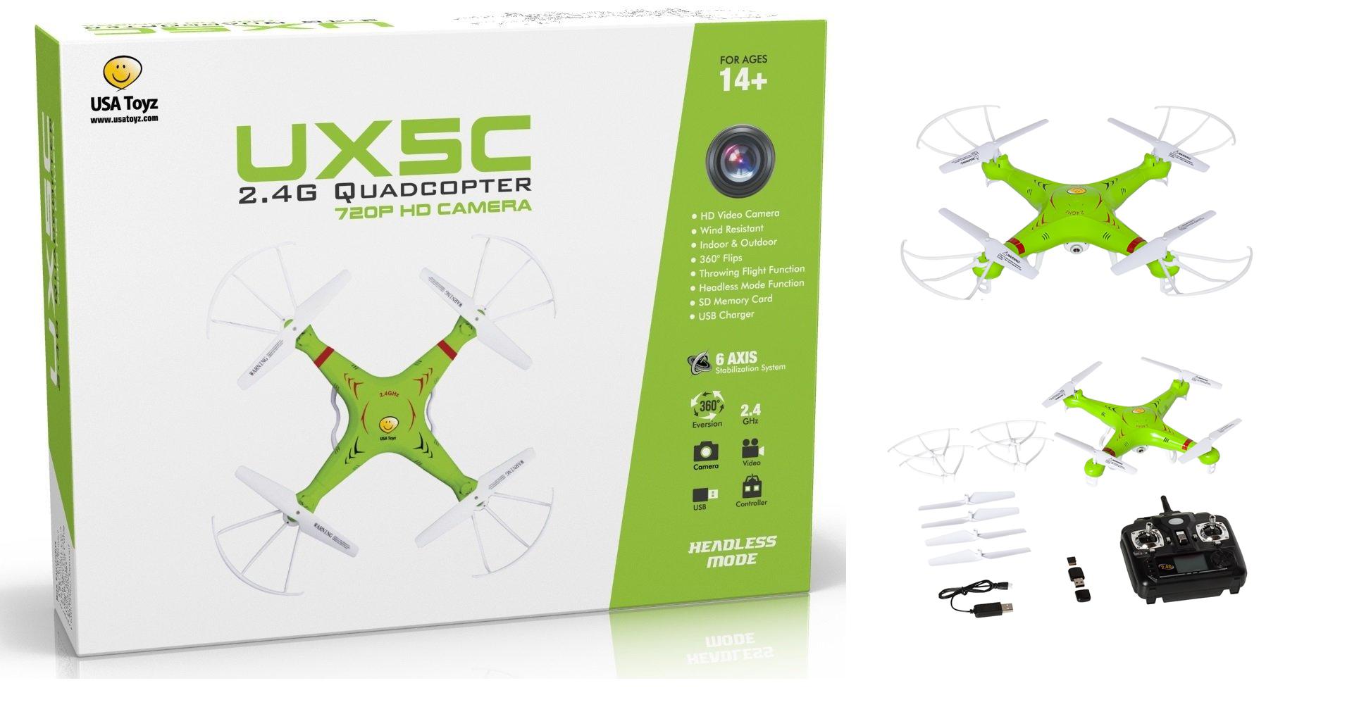 Quadcopterm mini drone