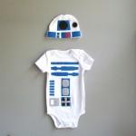 R2-D2 Baby Costume Onesie