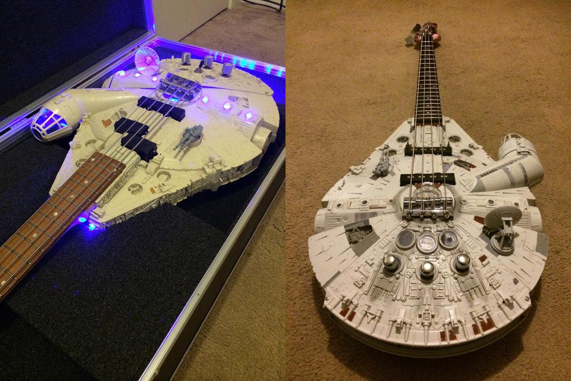 Rebel Bass Guitar - Star Wars