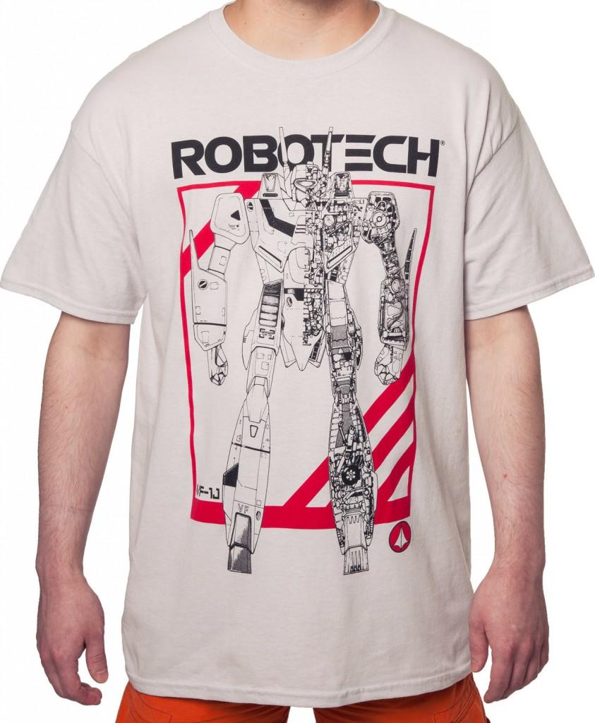Robotech Battloid Anime Shirt